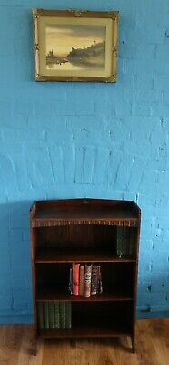 Waring & Gillows Arts & Crafts Small Oak Open Bookcase