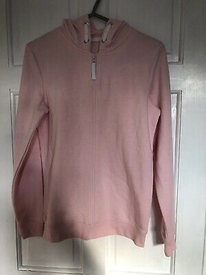 Girls Pink Hooded Jacket Age 13-14 Yrs