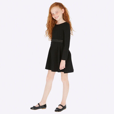 New Mayoral Girls sparkly waist dress, Age 8 years (7920)