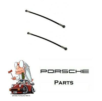 NEW For Porsche Boxster Set Of 2 Left+Right Convertible Top Tension Cable