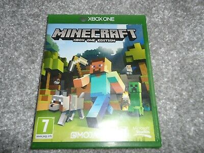 Microsoft MINECRAFT: Xbox One EDITION Game - Mojang for Xbox 1 Games Console