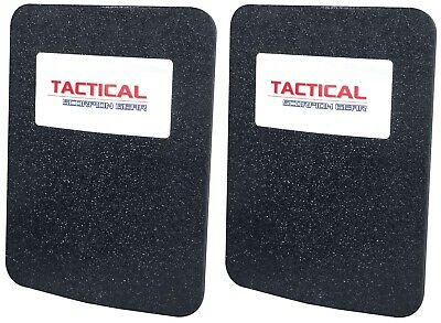 Tactical Scorpion Level III+ Body Armor Pair 6x8 Curved - Lighter Than AR500