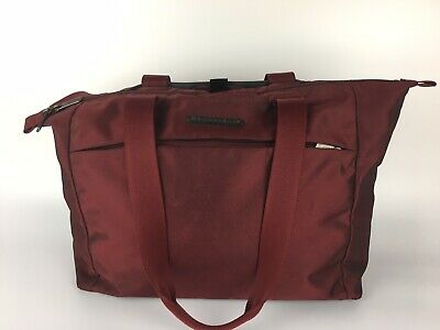 Briggs & Riley Transcend Carry on Tote TM201-12 Red Travelware Bag 16.5""