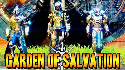 Garden Of Salvation Full Raid Completion (W/ All Chests) (Pc Ps4 & Xb) Destiny 2