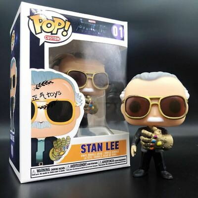 Funko Pop Stan Lee Infinity Gauntlet Marvel Avengers Endgame Vinyl Figure Model