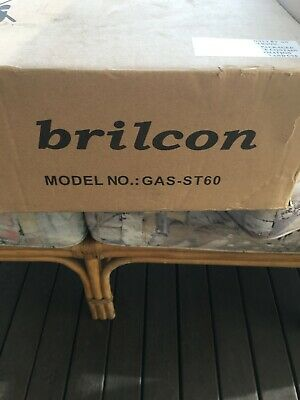 4 burner LPG stainless steel stove - brilcon gas-st60