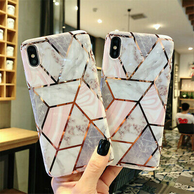 Case For iPhone 11 Pro MAX XR XS 8 7 Plus Marble Soft Shockproof Silicone Cover