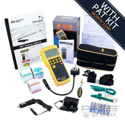 *NEW* Martindale HPAT600/2 HandyPAT Portable PAT Tester + FREE Accessory Bundle