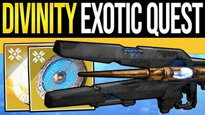 Divinity Full Quest Completion (W/ Raid Clear) (Pc Ps4 & Xbox) Destiny 2