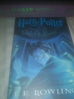 HARRY POTTER HARDBACK BOOK 5 Harry Potter and the order of the phoenix