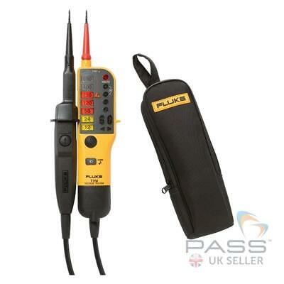 *SALE* Fluke T110 Two-Pole Voltage Tester & FREE C150 Case + Calibration / 2019