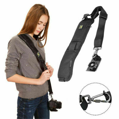 Quick Sling Camera Canon Sony Nikon Single Shoulders Belt Strap SLR DSLR Cameras