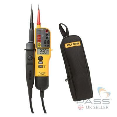*SALE* Fluke T130 Two-Pole Voltage Tester & FREE C150 Case + Calibration / 2019