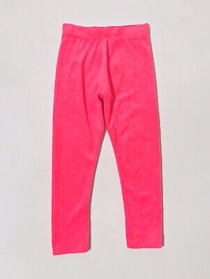 Marks And Spencer Girls Jogging Bottoms Age 3-4 Years Pink Elasticated Trousers
