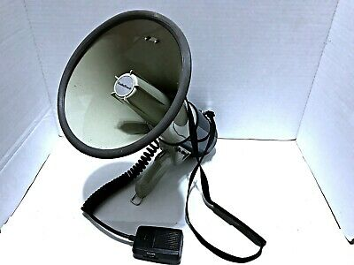 RadioShack Powerhorn 32-2038A Bull Horn Loud Speaker Announcer Siren Tested