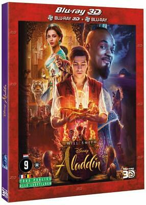 Aladdin Disney  Blu Ray 3D Et 2D Will Smith   Neuf Sous Cellophane