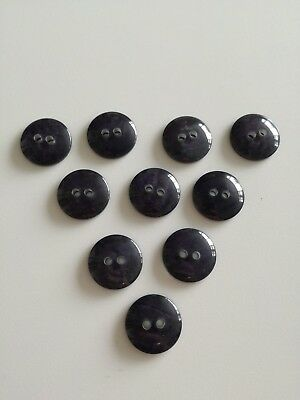 Small purple rounded buttons