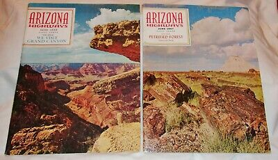 2 Arizona Highways Booklets - Grand Canyon (1965) & Petrified Forest (1967)