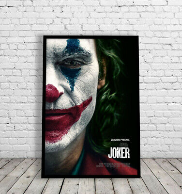Joker 2019 Joaquin Phoenix Framed Movie Poster Print Dc Cinema 60X40Cm & A3 Size