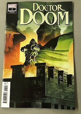 DOCTOR DOOM 1 1:10 DEODATO VARIANT Cantwell Larrocca Marvel Fantastic Four HOT