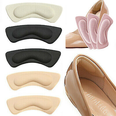 1 Pair Cushion Shoes Pads Anti-friction Heels Sticky Self-adhesive Sponge Foot