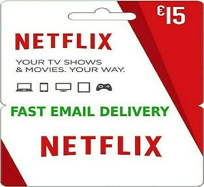 Netflix Gift Card - 15€ 🔥 Fast Delivery 🔥 15 EUR