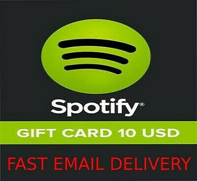Spotify Gift Card 10$ 🔥 Fast Delivery 🔥