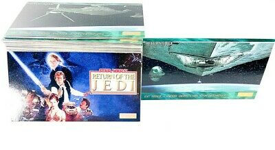 Star Wars Return Of The Jedi Widevision 1995 Topps Partial Base Card Set 136/144