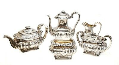 5pc Gorham Mfg Co Sterling Silver Tea & Coffee Service Set, Date Cypher 1894