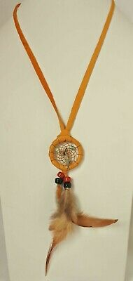 Native American Navajo Dream Catchers  Necklace 1 inches Diameter 36 inches Long