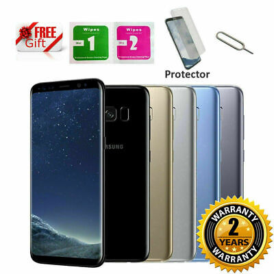 NEW SAMSUNG GALAXY S8 64GB Android Mobile Phone Unlocked 4G SIM Various Colours
