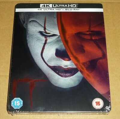 IT Chapter 1 : 4K Ultra HD + Blu-ray, STEELBOOK Limited Edition, Pennywise, One