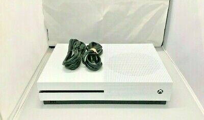 Microsoft Xbox One S 1TB Console, Power Cord, and HDMI Cable Only