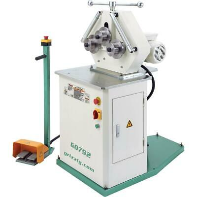Grizzly G0792 Heavy-Duty Ring Roll Pipe Bender
