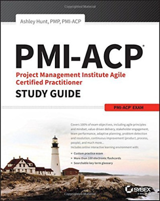 Hunt J. Ashley-Pmi-Acp Project Management Institute Agile Certified Pra BOOK NEW