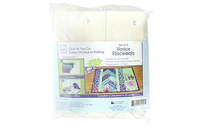 June Tailor Jnt1457 Quilt As Go C P Placemat Venice Ptrn