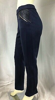 Ivanka Trump Womens Pants Size M Blue (**)^