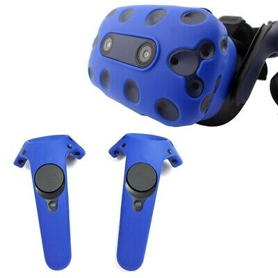 2X(For Htc Vive Pro Vr Virtual Reality Headset Silicone Rubber Vr Glasses H I6T3
