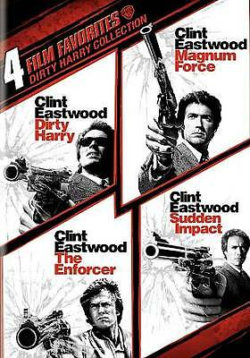 4 Film Favorites: Dirty Harry Collection DVD Clint Eastwood NEW,$9.99,SHIPS FREE