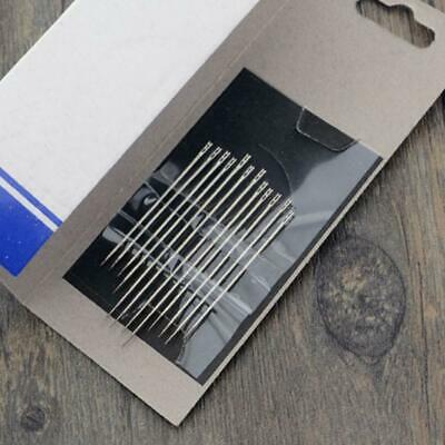 One Second Needle Set of 12PCS Hand Sewing Needles Tools New Home Household B9L6