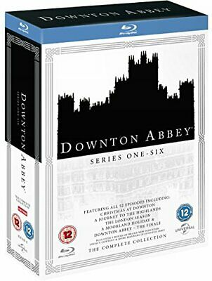 Downton Abbey: The Complete Collection [Blu-ray] [DVD][Region 2]