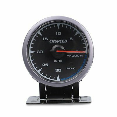 Universal 2.5 inch 60mm Adjustable 7 Color Turbo Vacuum Gauge 0-30 PSI Car Meter