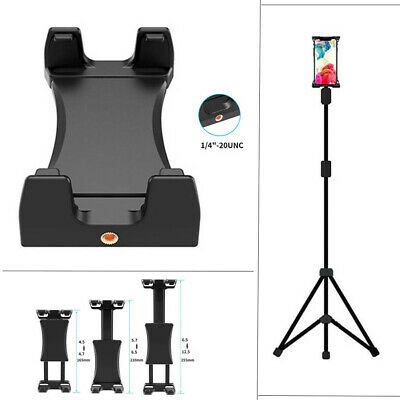 Cell Phone Tablet Stand Clamp Holder Use on Tripod Selfie Stick Monopod Etc Tool