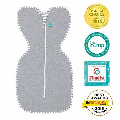 Love To Dream Swaddle UP Gray Small 7-13 lbs Better Sleep for Baby US Seller