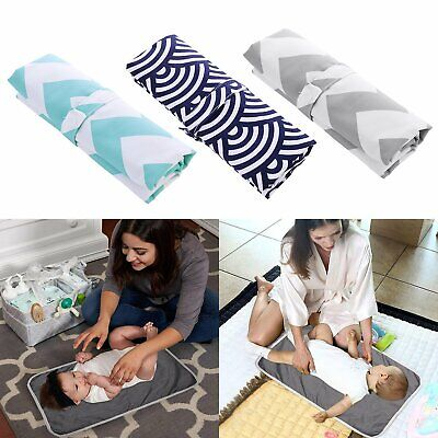 Safty Portable Baby Change Mat Reusable Waterproof Nappy Diaper Changing Pad