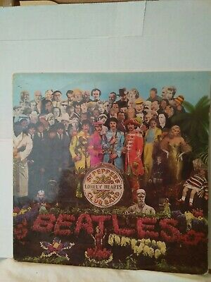 The Beatles Sgt. Peppers Lonely Hearts Club Band Pmc 7027 (Xex.637) 1St Pressing
