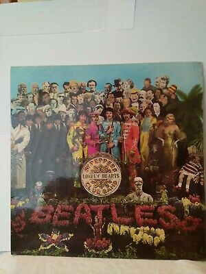The Beatles Sgt. Pepper Lonely Hearts Club Band Pcs 7027 (Yex.637) Vinyl Lp