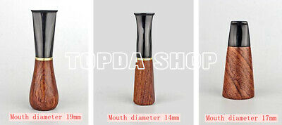 Handmade red rosewood cigar cigarette holder circulation filter can be cleaned