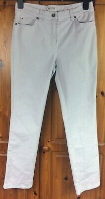 Gerry Weber Edition Romy Jeans Pale Blue Stretch Size 10 Straight Leg