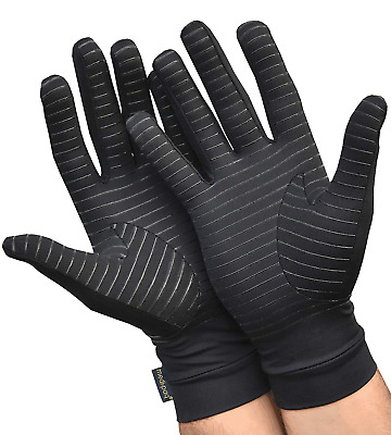 Full Fingered Arthritis Compression Gloves Raynauds Disease Carpal Tunnel Tender